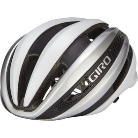 Giro Synthe MIPS Helm matte white/silver